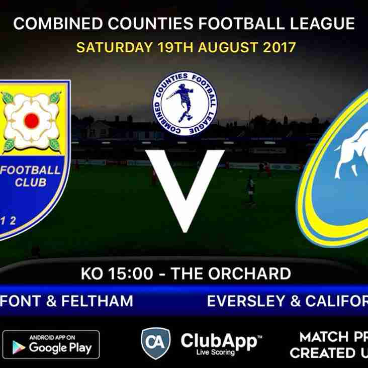 Next match at The Orchard