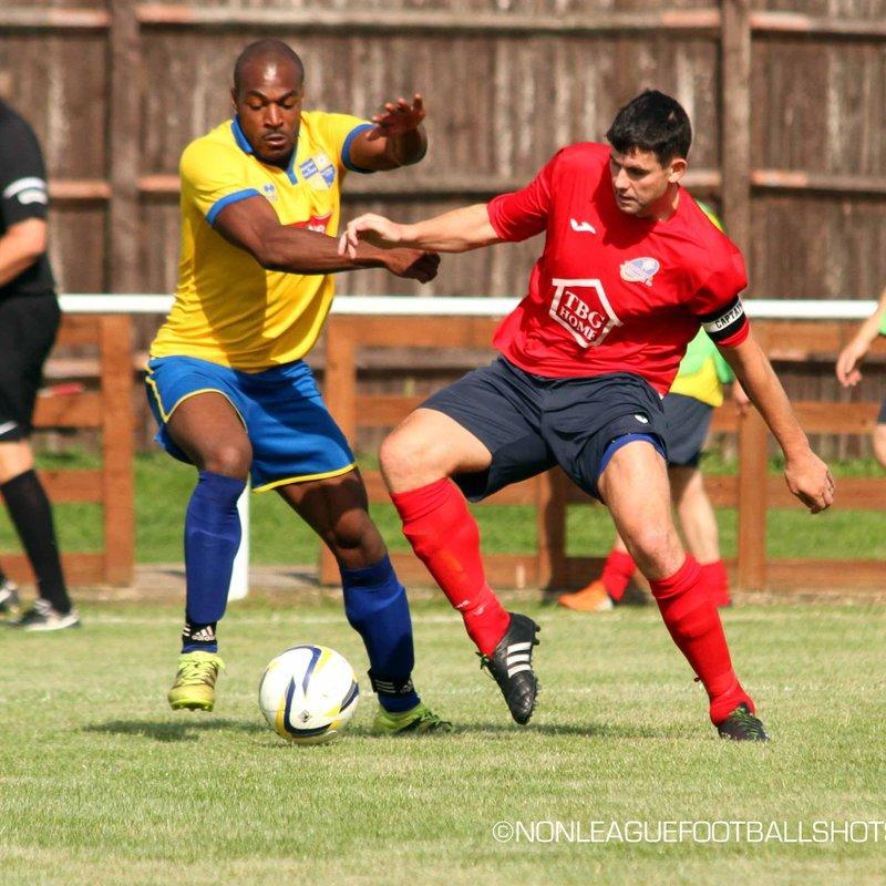 Match Report Bedfont & Feltham V Eversley & California