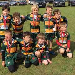 Under 8As play well at the Surrey County Rugby Festival