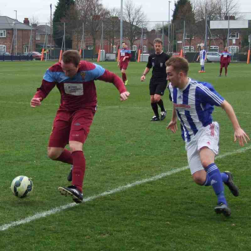 Manchester Gregorians 0 Heys 1 (19-3-16)