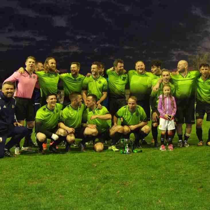 Heys win the Gilgryst Cup to complete a glorious treble