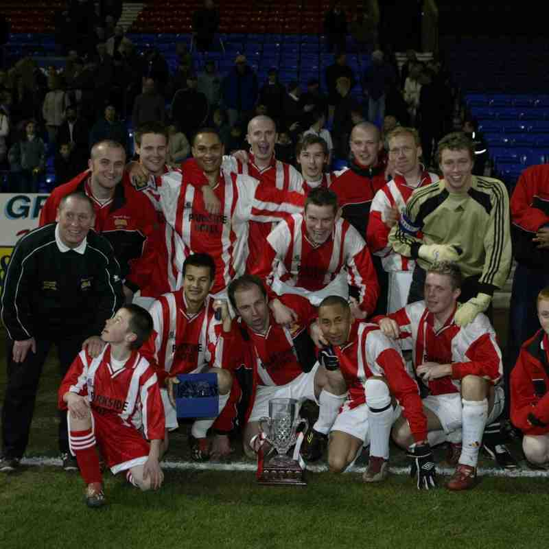 Goldline Trophy Final 2003 Heys 3 Atherton Collieries 0 ( Martin Ogden has provided some images from his archive)