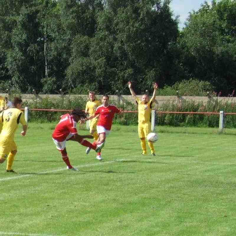 1st Team v Widnes - Sat  6 Aug 2016