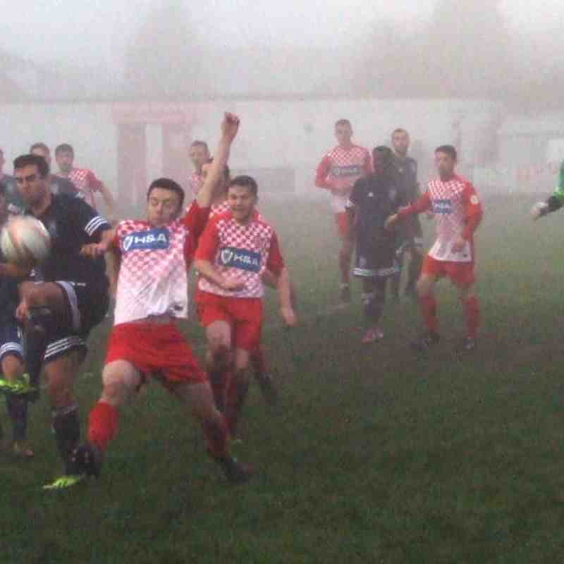 23. Ashton Town v Heys (17-12-16) - abandoned due to fog 55 mins with Heys leading 5-2