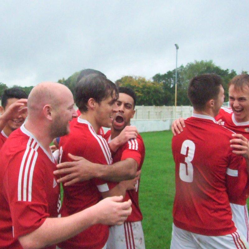 1st Team beat Alsager Town 4 - 0