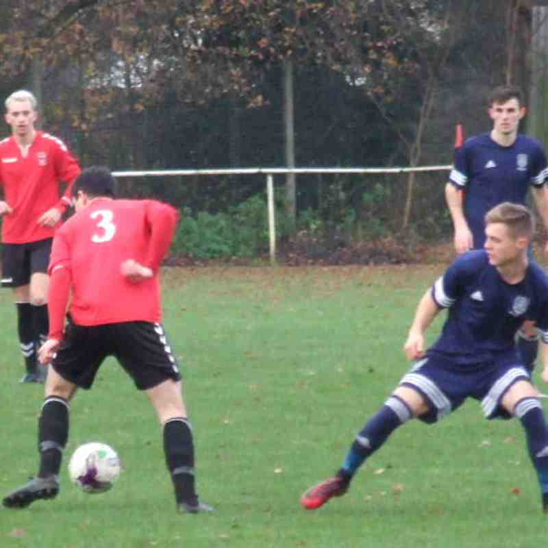 Stockport Georgians 1 Heys Reserves 1 (2nd Dec 17)