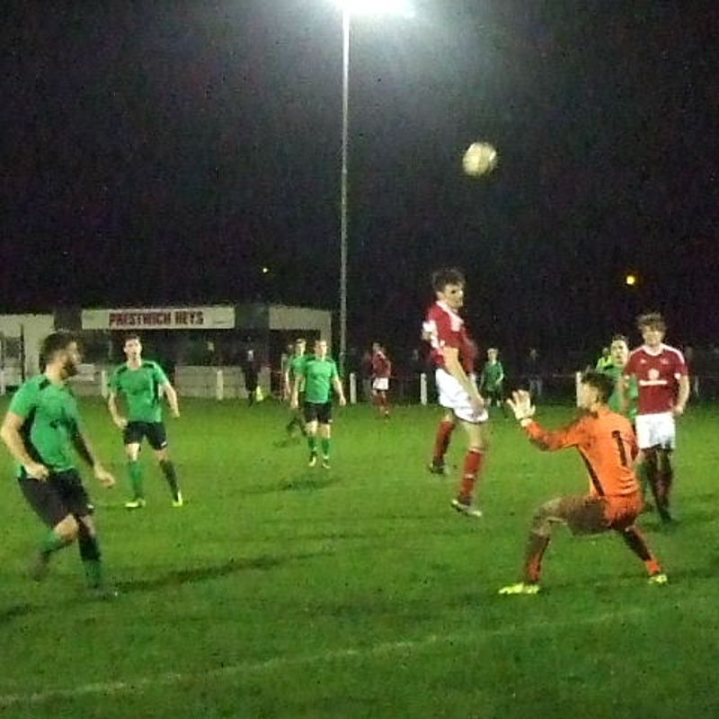 Heys suffer penalty shoot out knockout