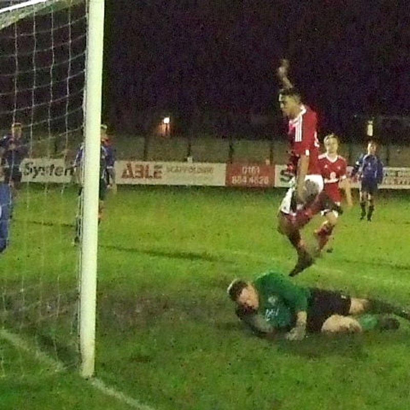 Heys sink Blackpool to reach LWC Cup semi -finals
