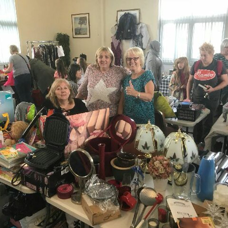 Heys Ladies out raising club profile and funds