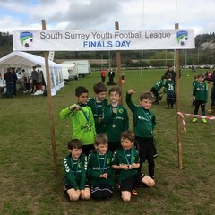 Under 8s at South Surrey YFL Finals Day