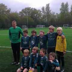 U9 Panthers Trophy winners!