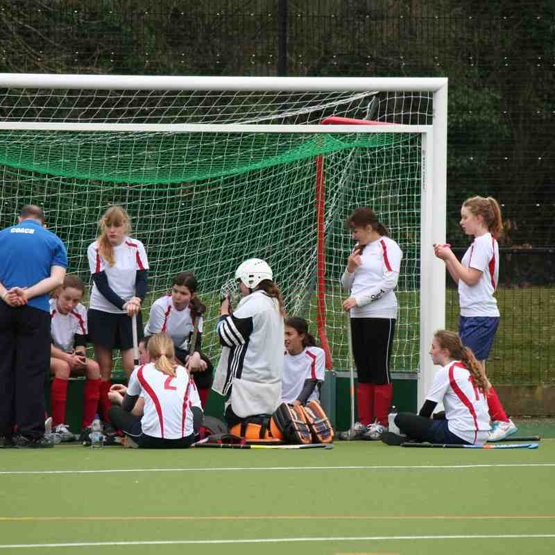 Girls U14 vs Aldershot & Farnham 8/3/15
