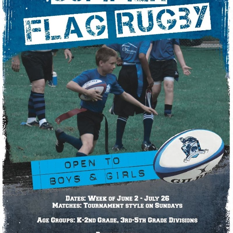 Narberth Summer Flag Rugby - Registration Documents HERE!