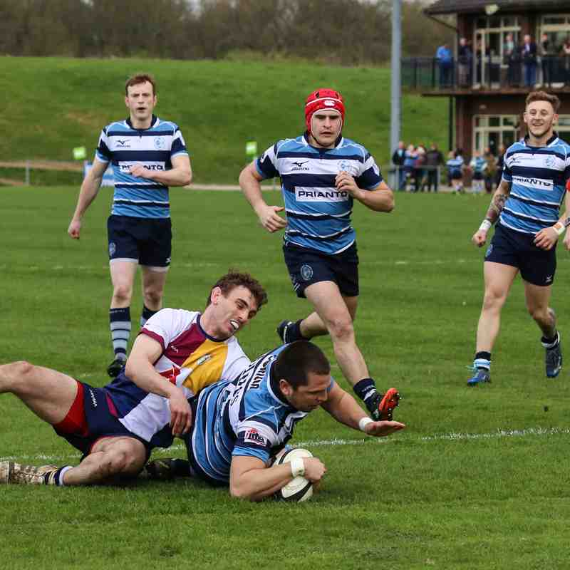 Newbury vs Oxford Harlequins Saturday 1st April 2017