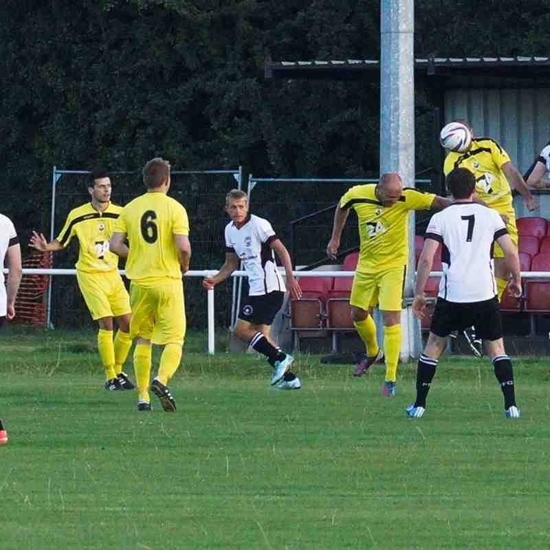 Portishead Town 2-1 Wells City - FAC -09/08/16