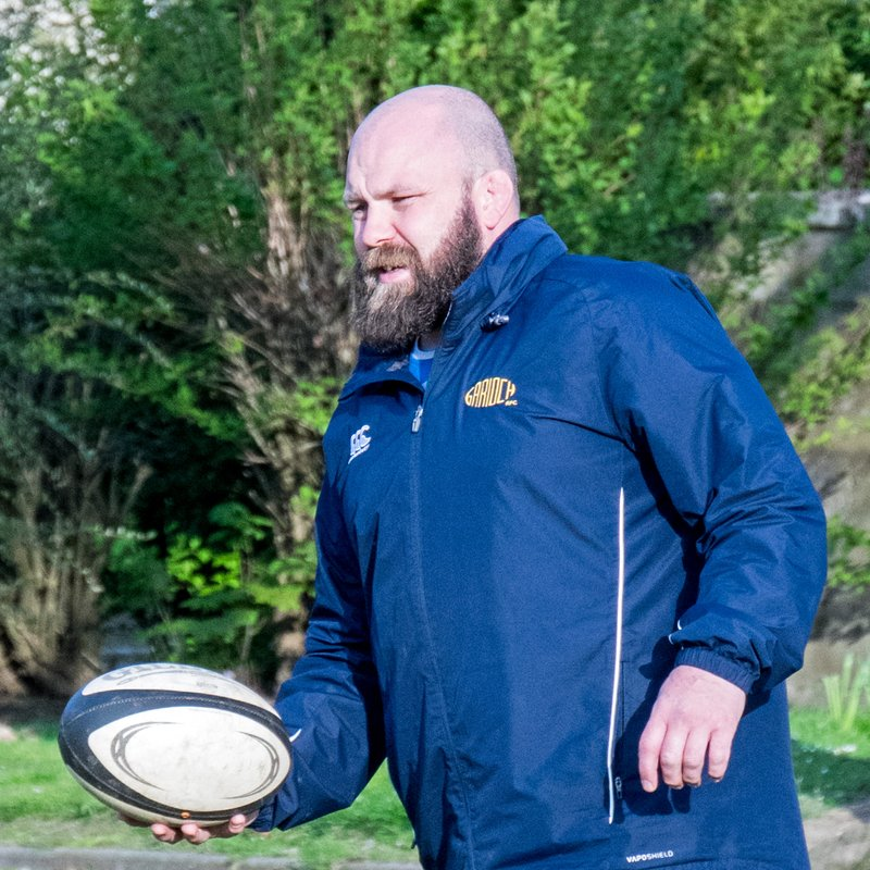 Garioch RFC's Corsar takes Dyce RFC training session