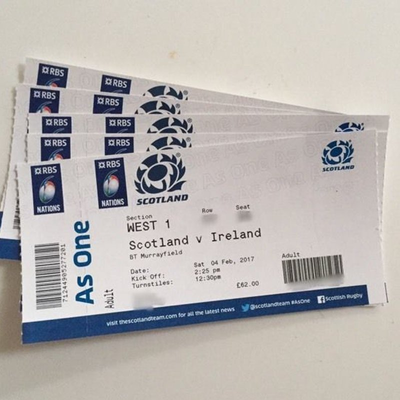 Scotland home 6 Nations tickets available through Dyce RFC