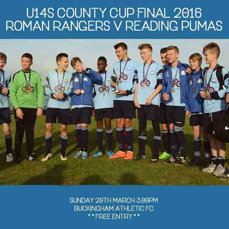 U14s County Cup Final