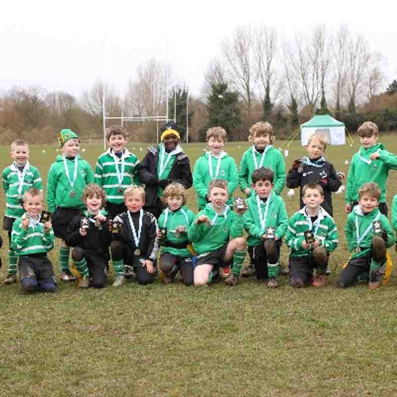 Buckingham U8's Alliance Festival