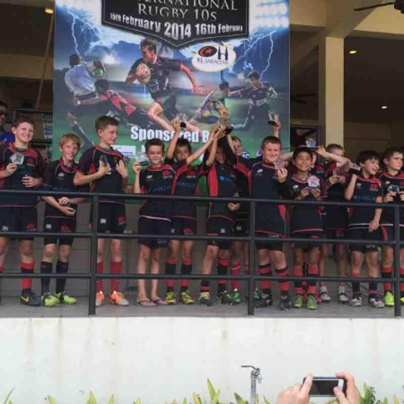 TRC U11s Cup Winners in KL