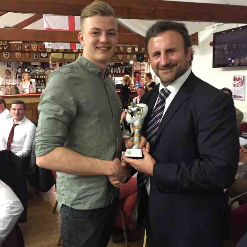 Ed Parker -Young Player of the Season