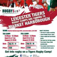 TIGERS RUGBY CAMP AT MHRUFC