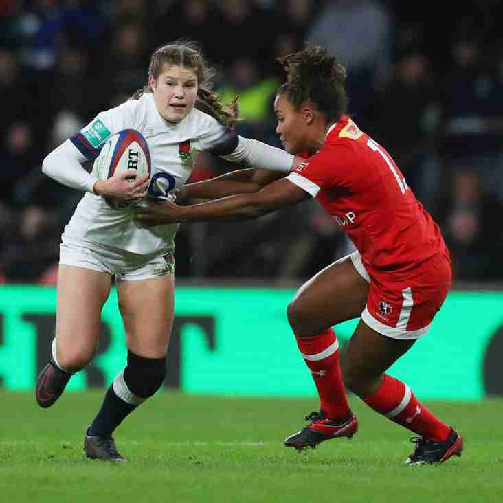 England Women's rugby's newest star, Jess Breach to visit the club this Sunday