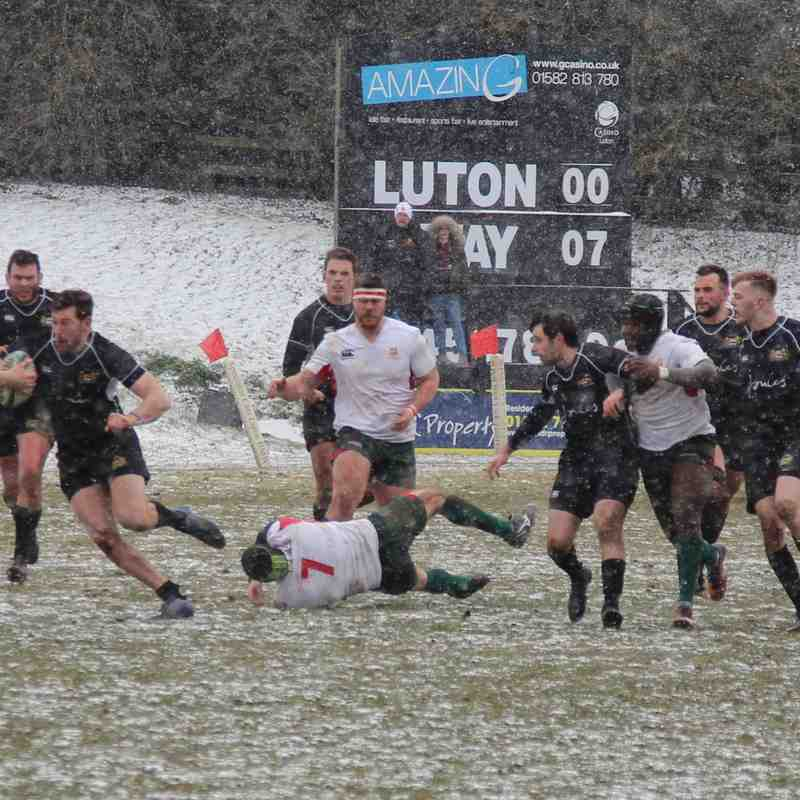 Luton v Harborough 17th March 2018 (Courtesy of Colin Harrop)