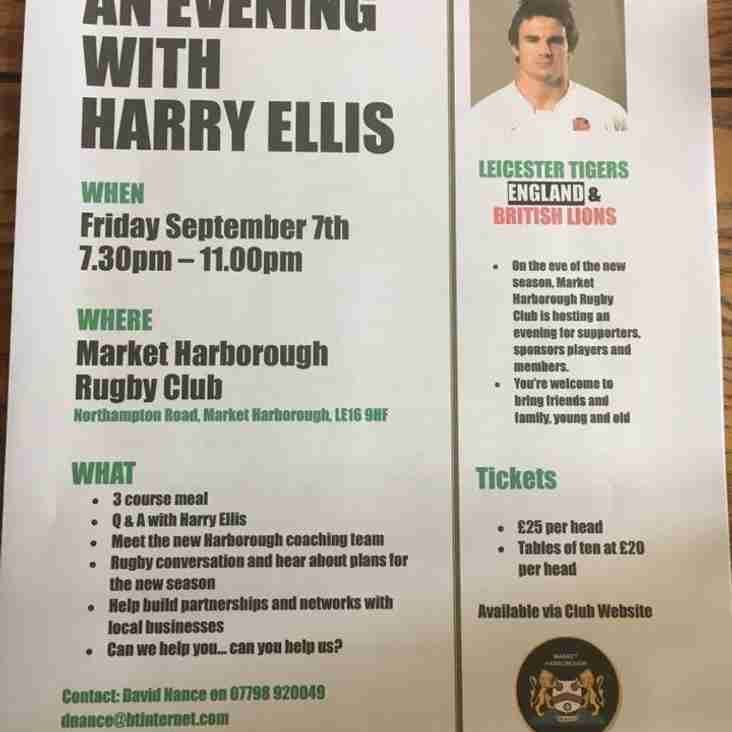 An evening with Harry Ellis