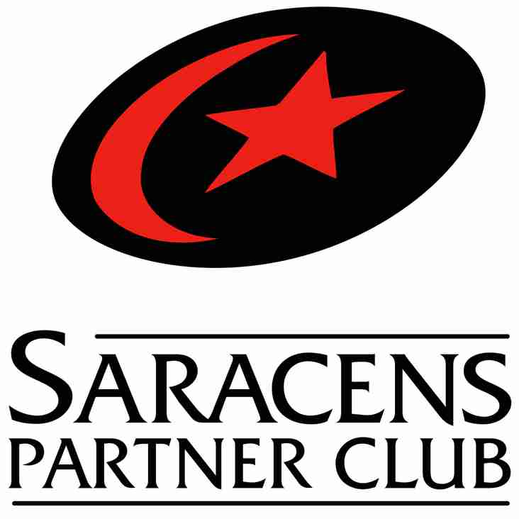 New Club Partnership with Saracens