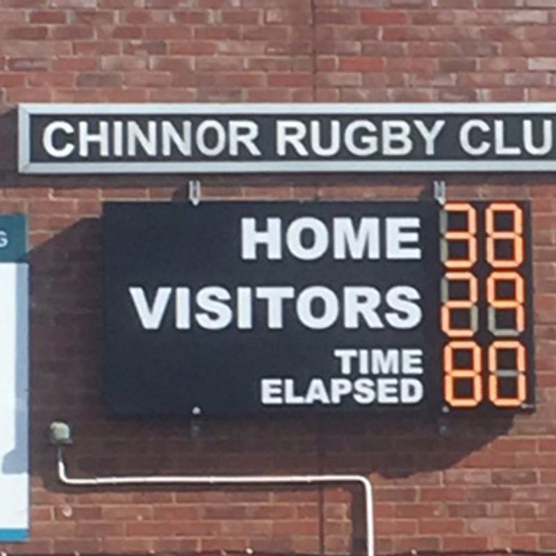 Chinnor come from behind to beat Titans