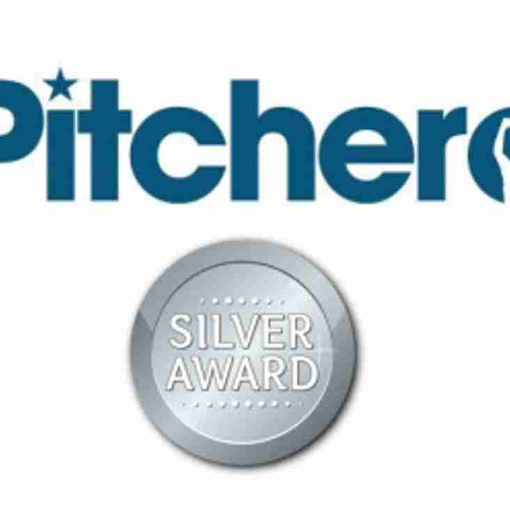 Chinnor Rugby Club awarded Pitchero Silver Ranking