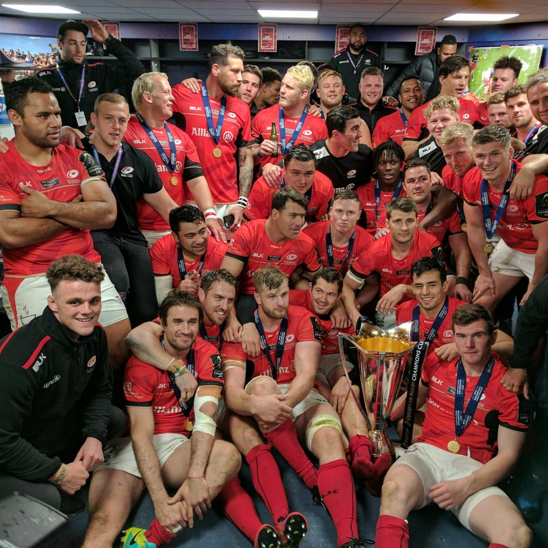 Sarries - our partner club - the best in Europe!