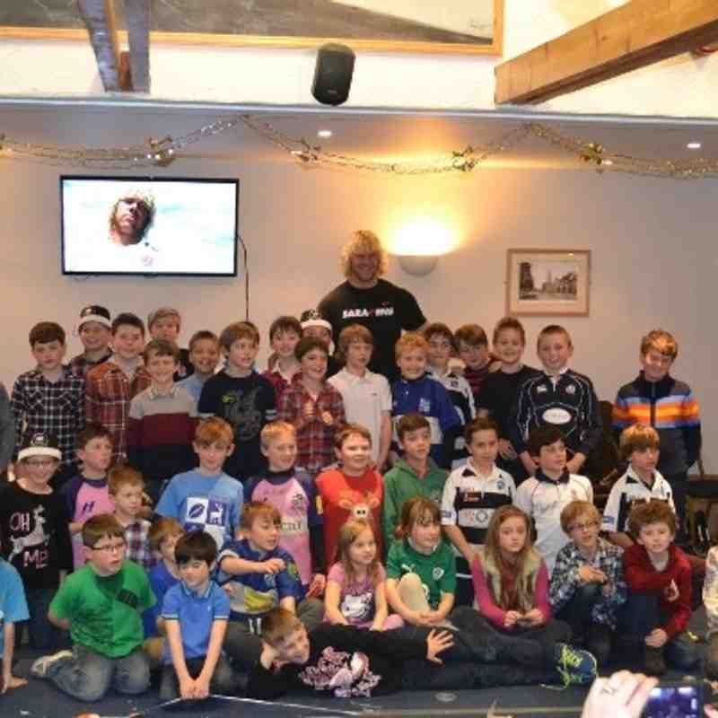 U10s Xmas Party - MoBo (15th Dec 2013)