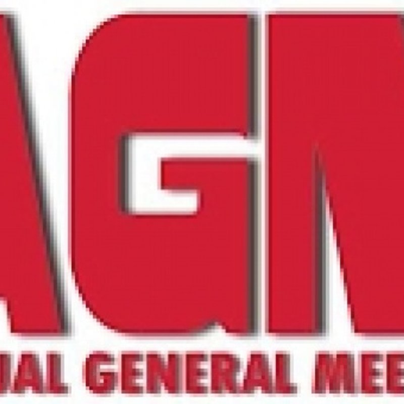 CLUB AGM - December 3rd - 8pm