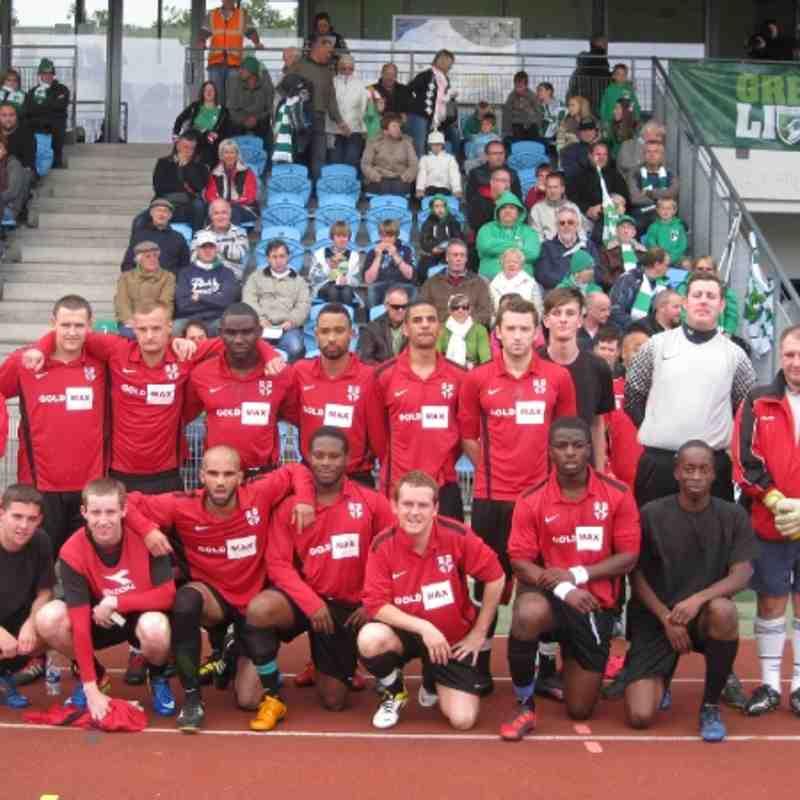Guernsey v Farleigh Rovers 22/10/2011