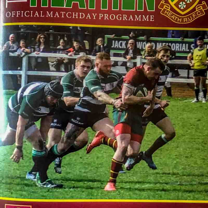 Heath 15 v 35 Middlesbrough 21 April 2018