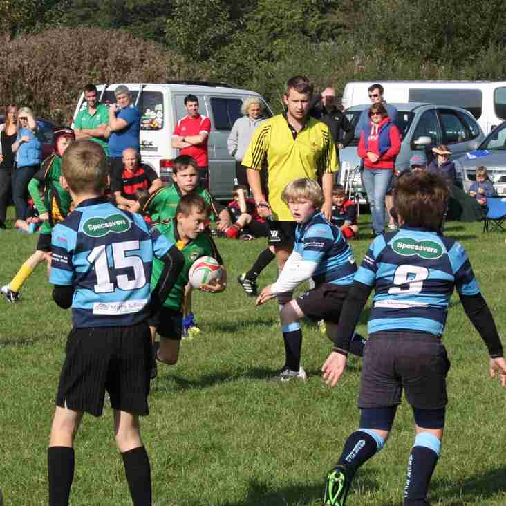 870 compete at Llanidloes Junior Festival