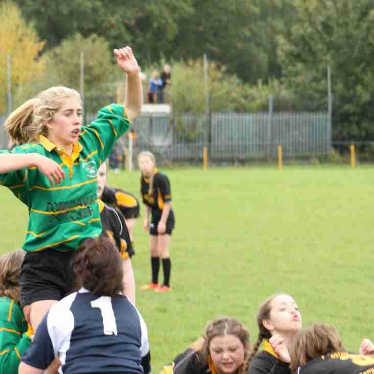 U18 Girls beat Nant Conwy