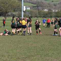 U18 Girls - Out Muscled at the contact area
