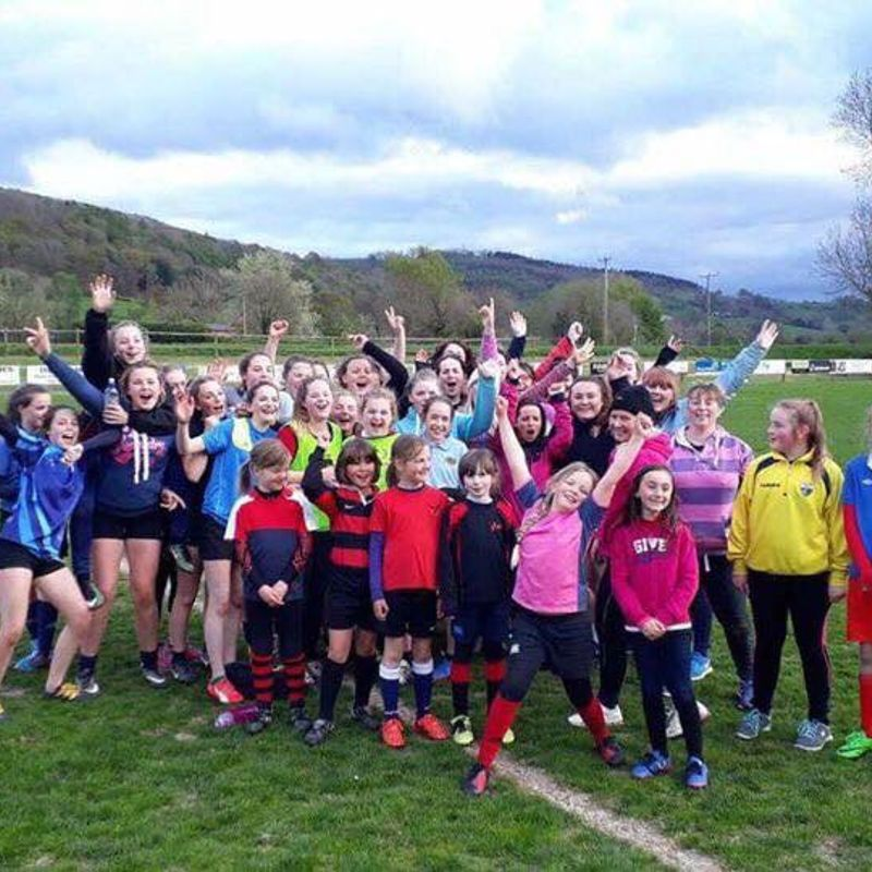 Llanidloes RFC host Rebels Girls Only Rugby Festival