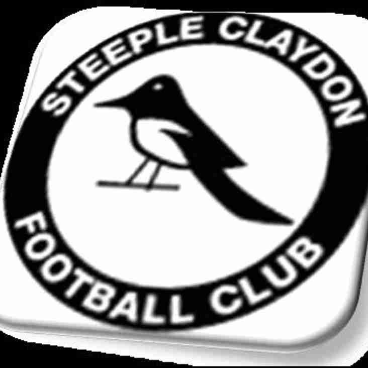 Claydon away in pre-season friendly