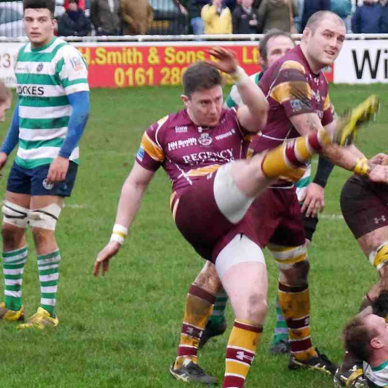 Sedgley Tigers 17   South Leicester 39    2/1/16