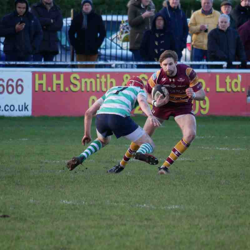 SEDGLEY TIGERS 26  SOUTH LEICESTER 21