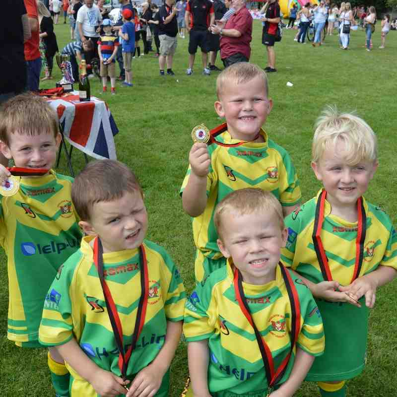 Cadishead Cubs vs Woolston Rovers Cubs - 6th August 2016