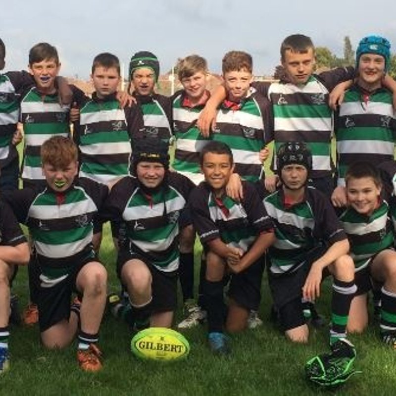 Under 14's beat Tynedale RUFC 19 - 35