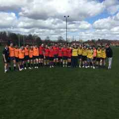 Spartans  touch rugby - Summer 2016  (May and June)