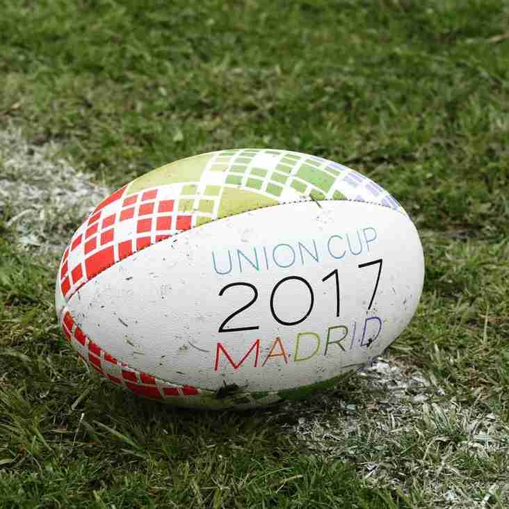 The Spartans on tour in Madrid for the 2017 Union Cup, 28-30 April.