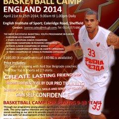 Red Star Belgrade Basketball Camp England 2014
