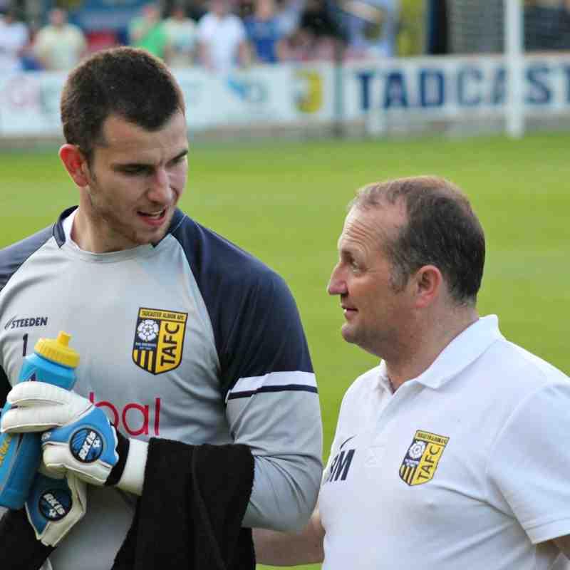 Taddy v Leeds United XI , 15/7/2015